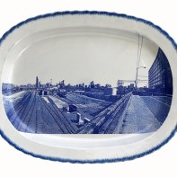 Paul Scott, Cumbrian Blue(s), New American Scenery, Chicago, (W.18th.St.) (3), 2020