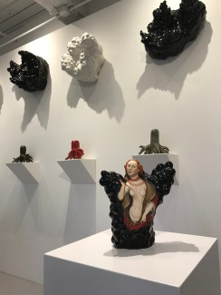 """""""The Women"""" at Ferrin Contemporary in North Adams, MA. Work by Kadri Pärnamets pictured."""