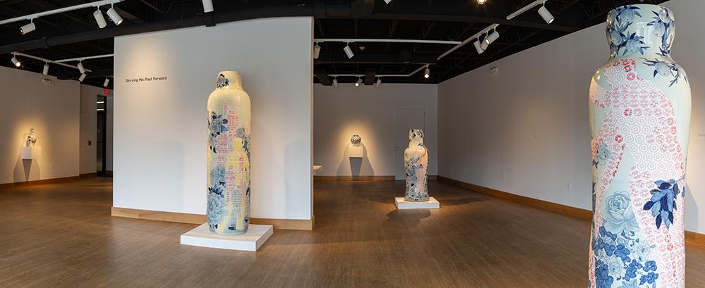 """Sin-ying Ho: Past Forward"" installation view at Hood Downtown in Hanover, NH. © 2018 Rob Strong"