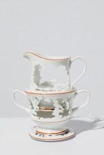 """Elizabeth Alexander, """"Queen's Garden no.3"""" 2015, hand cut found porcelain 6.5 x 6 x 4"""""""