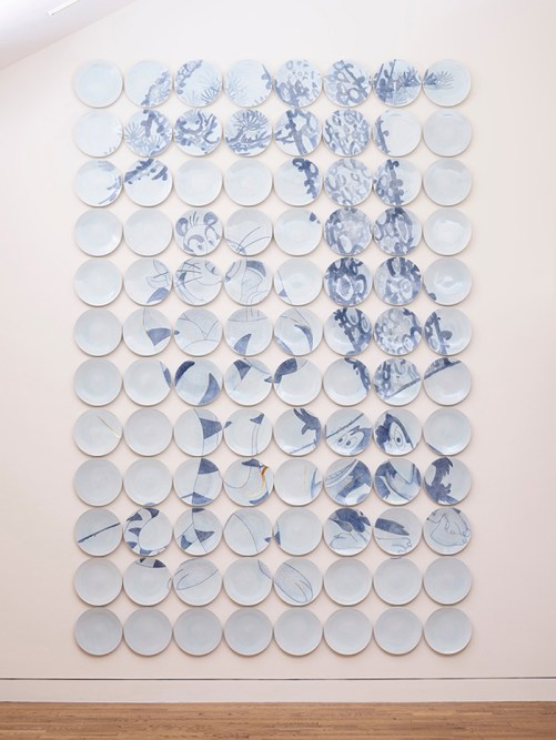 "Steven Young Lee, ""APEX"", Portland Art Museum, 2019. Installation view."