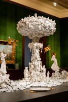 "Ferrin Contemporary, Bouke de Vries, ""War & Pieces"" 2020-2021, The Frick Pittsburgh, Installation View."