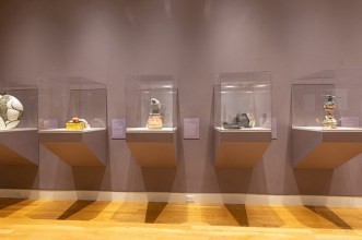 """Cool Clay: Recent Acquisitions of Contemporary Ceramics"", Crocker Art Museum, Sacramento, CA, July 21, 2019 - July 19, 2020.Image courtesy of the Crocker Art Museum."