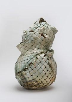"Anina Major, ""Water Gourd"" 2019, stoneware, 32 x 18 x 18"""