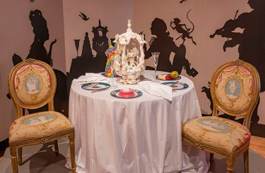 Chris Antemann, Savor: Food Culture in the Age of Enlightenment, 2020, Wadsworth Atheneum Museum of Art, Hartford, CT.