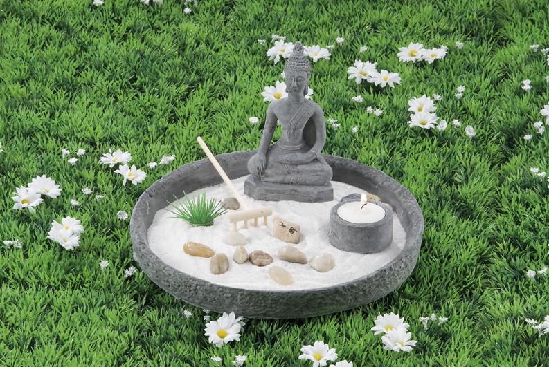 Giardino Zen Pistoia : Giardino zen tondo ferrini gift