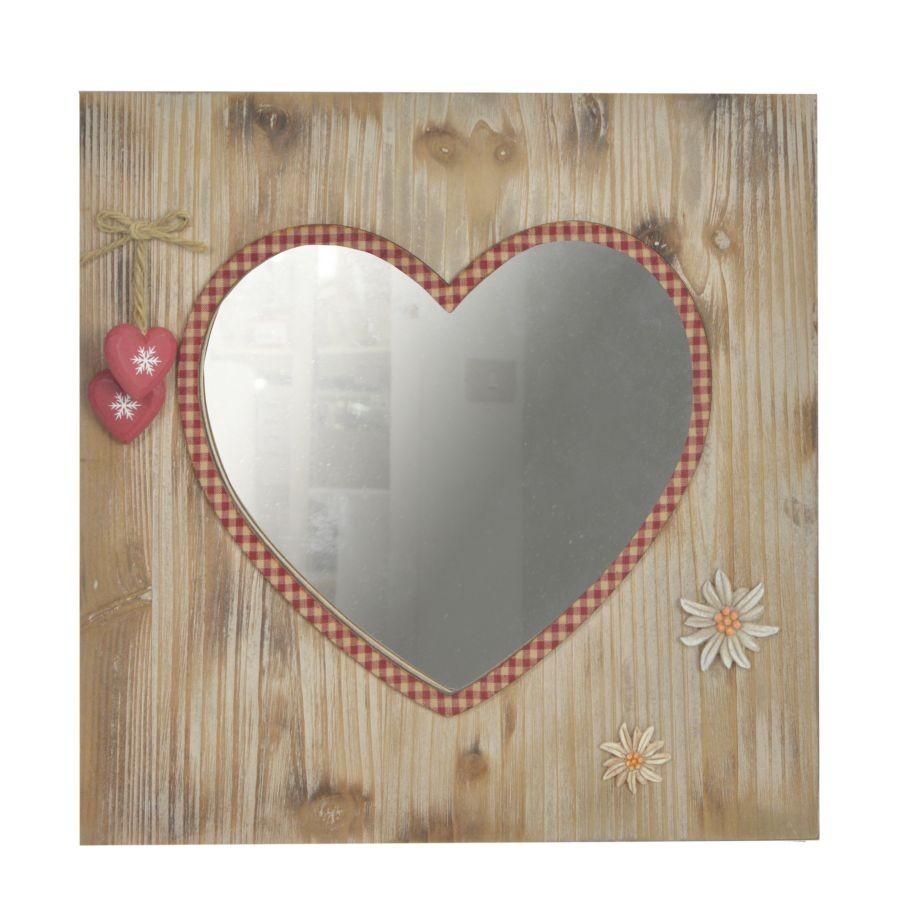 Specchio tirolo cuore ferrini gift - Specchio a cuore ...