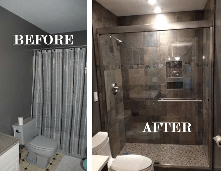 bath remodel by Ferris Home Improvement