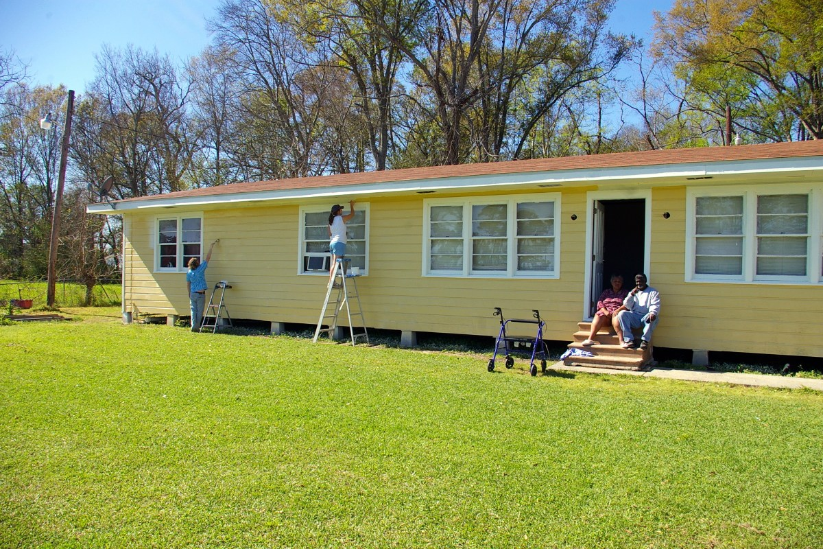 Louisiana - house completed