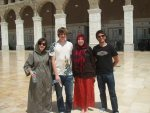 Study away group in Syria