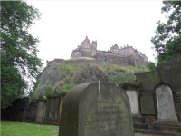 Edinburgh Castle, Photo by Kathryn Wilson, used with permission by the Honors Program at Ferris State