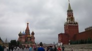 The Kremlin Wall in Red Square, Photo by Jacey Culross, used with permission by the Honors Program at Ferris State