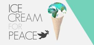 Ice Cream for Peace Logo, courtesy of Beyond Globalization at Ferris State University, https://www.facebook.com/beyondfsu?fref=ts