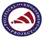 Political Engagement Project Logo courtesy of the Program Assistant for the University Center at Ferris State University.