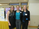Natalie Perry, Danielle Rustem, and Holly Vandervest. Image of the Honors Program at Ferris State University.