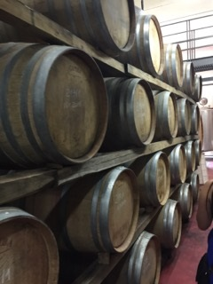 Italian Wine Barrels. Courtesy of Ferris State University Honors student, Luke Jacobson