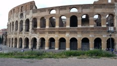 Colosseum. Courtesy of Ferris State University Honors Student, Noah Blower.