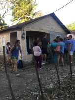 House in Dominican Republic. Courtesy of Honors student, Cindy Tran.
