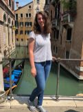 Samantha Schrotenboer in Venice, Italy. Courtesy of Honors student, Samantha Schrotenboer.