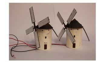 Molinos de viento Escala N Ferro3D