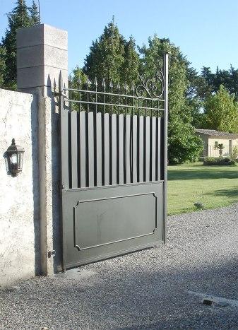 portail fer forgé