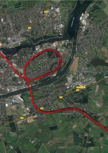 Rendsburger Hochbrücke Rendsburg Bahn Zug NOK Nordostseekanal