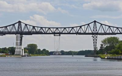 Die Rendsburger Hochbrücke