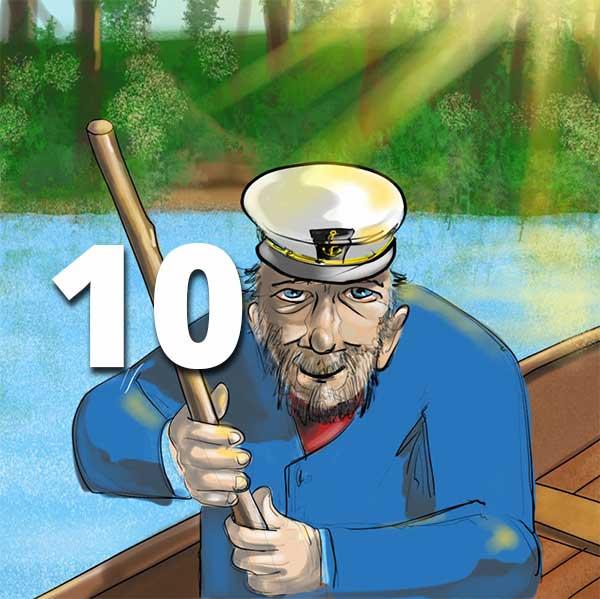 Verzell doch das em Fährimaa Podcast ferry-tales nordsee-ferien Sidney Batt