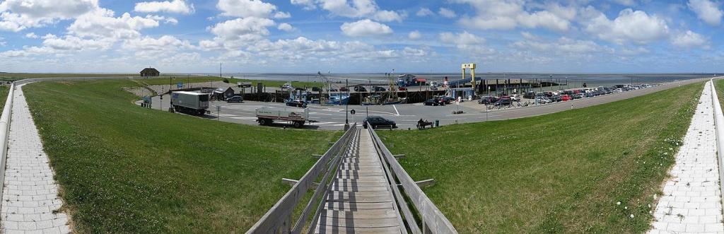 Strucklahnungshörn Nordstrand Nordfriesland Nordsee Ferry-Tales verzell doch das em Fährimaa
