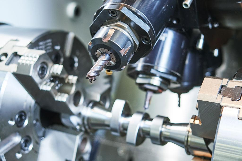 multi-axis cnc machining