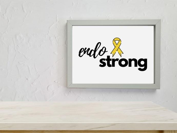 Endometriosis prints - endo strong