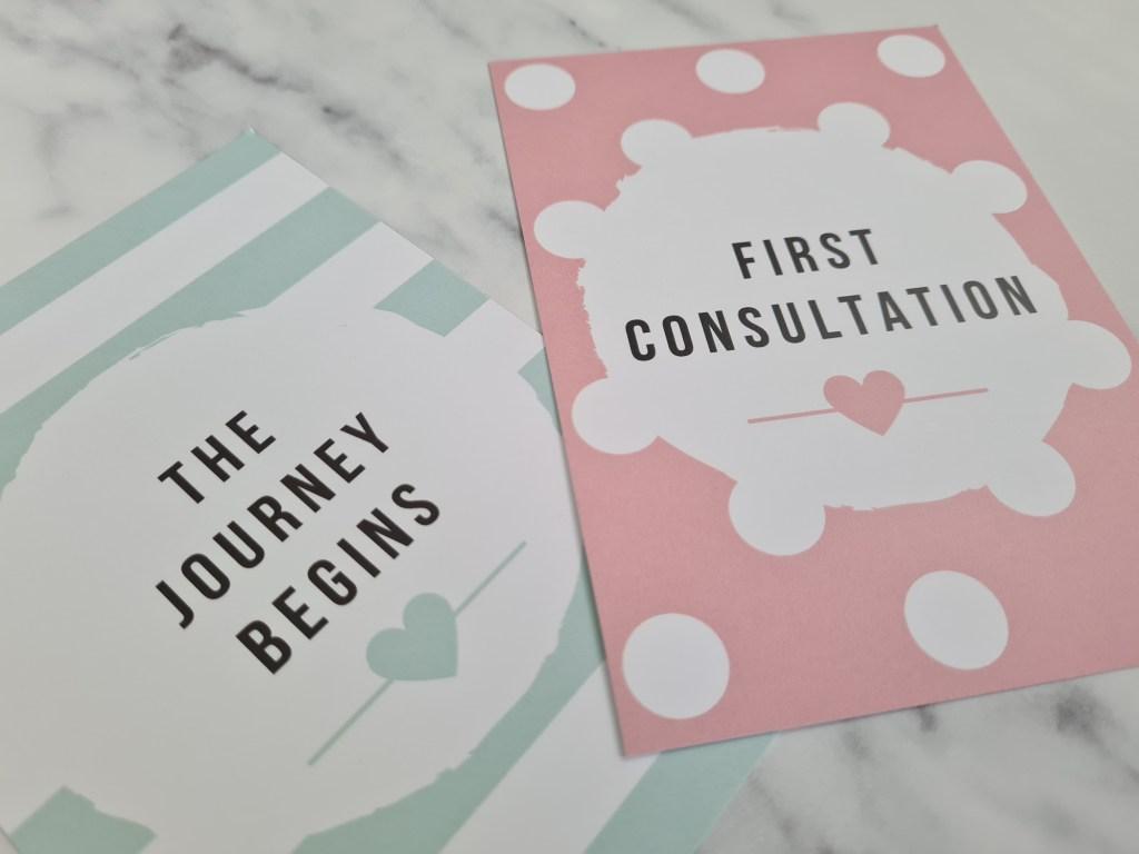 IVF Milestone Cards - Spots & Stripes Edition