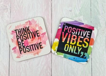 Positivity coasters