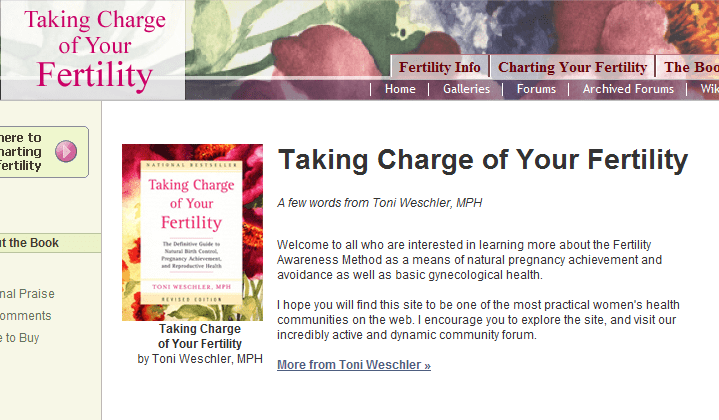 take charge of your fertility