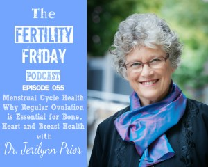 FFP 055 | Menstrual Cycle Health | Why Regular Ovulation is Essential for Bone, Heart and Breast Health | Dr. Jerilynn Prior