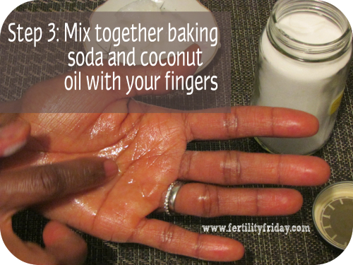 natural coconut oil deodorant