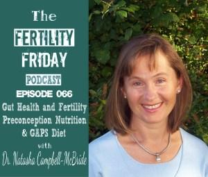 FFP 066 | Gut Health and Fertility | Preconception Nutrition | GAPS Diet | Dr. Natasha Campbell-McBride