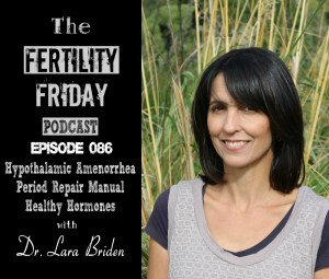 FFP 086 | Hypothalamic Amenorrhea | Period Repair Manual | Healthy Hormones | Dr. Lara Briden