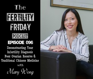 FFP 096 | Deconstructing Your Infertility Diagnosis | Poor Ovarian Reserve | Practical Ways of Managing Stress | Traditional Chinese Medicine | Mary Wong