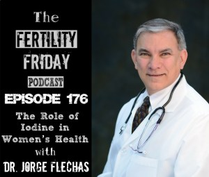 FFP 176 | The Role of Iodine in Women's Health | Ovarian Cysts, Fibrocystic Breasts & Thyroid Disorders | Dr. Jorge Flechas