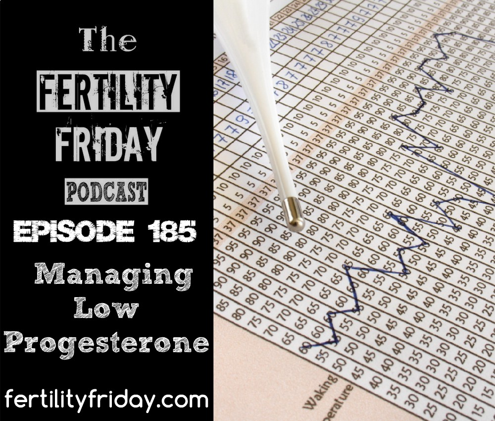 Managing Low Progesterone