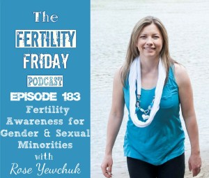 FFP 183 | Fertility Awareness for Gender & Sexual Minorities | Fertility Awareness in the LGBTQAI Community | Rose Yewchuk