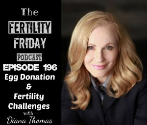 FFP 196 | Egg Donation | Infertility | The World Egg Bank | Diana Thomas
