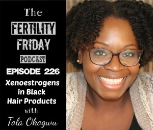 Xenoestrogens in Black Hair Products