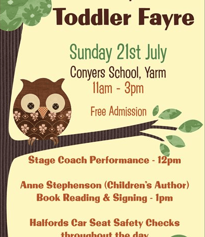 Baby & Toddler Fayre Sunday 21st July 2013 in Yarm