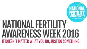 National Fertility Awareness Week 2016