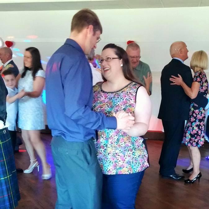pam and ian dancing