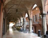 Los soportales de Bologna