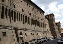 Trasera de la plaza Mayor de Bologna