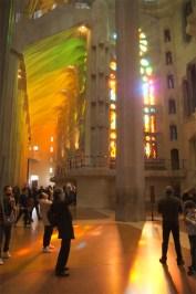 Vidrieras de la Sagrada Familia
